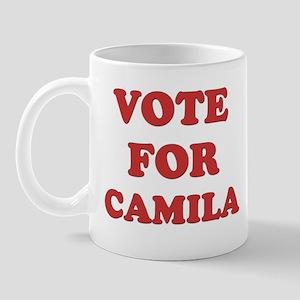 Vote for CAMILA Mug