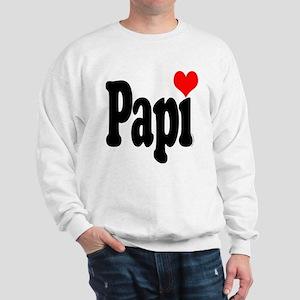 I love Papi Sweatshirt