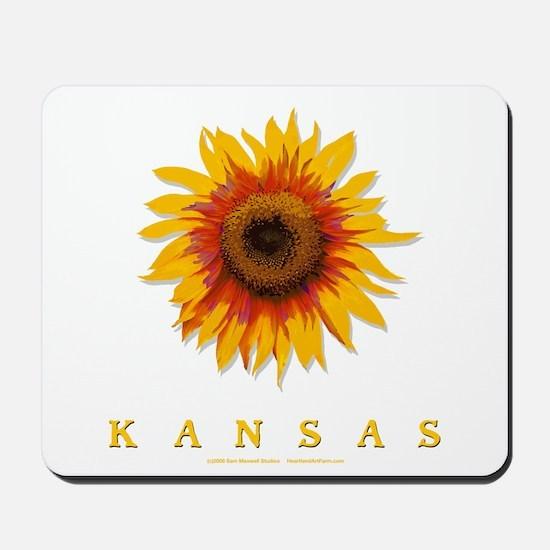 Kansas Sunflower Mousepad