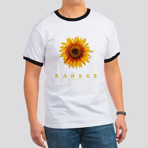 Kansas Sunflower Ringer T
