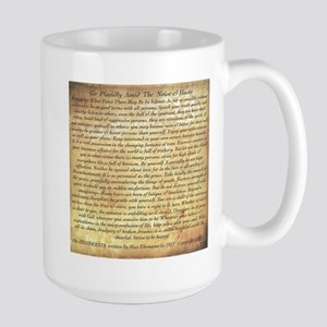The Desiderata Poem by Stainless Steel Travel Mugs