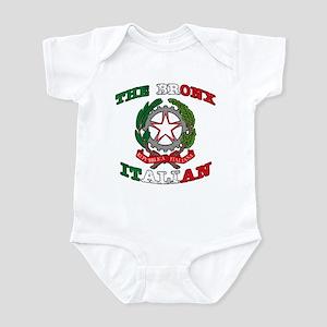 The Bronx Italian Infant Bodysuit