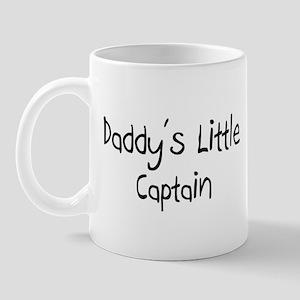 Daddy's Little Captain Mug