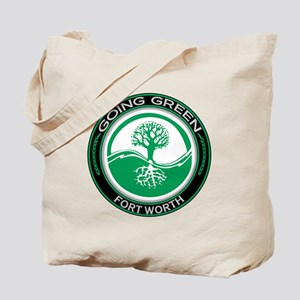 Going Green Fort Worth Tree Tote Bag