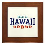 Made in Hawaii Framed Tile
