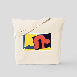 Cat Pose Tote Bag