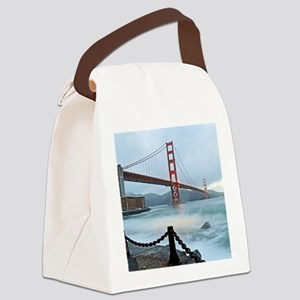 City by the Bay Canvas Lunch Bag