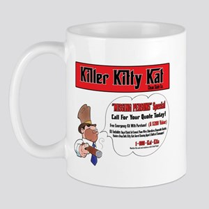 killer kitty kat Mug