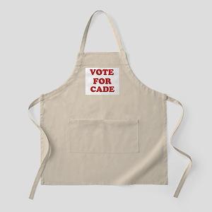 Vote for CADE BBQ Apron