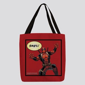 Deadpool Fall Polyester Tote Bag