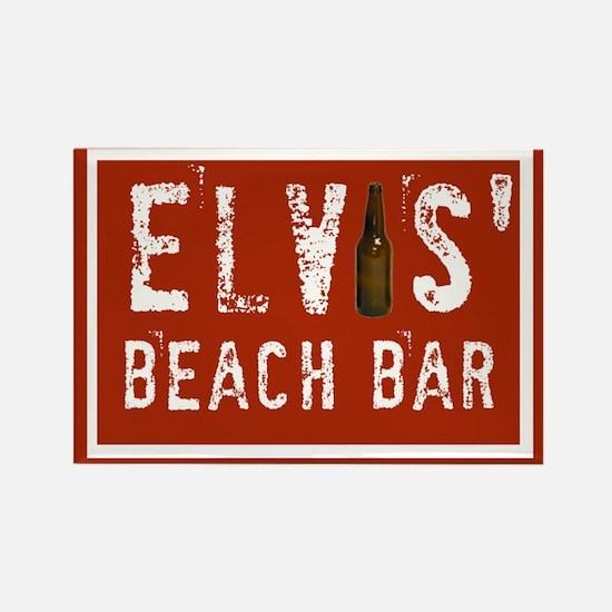 Elvis' Btl Logo Rectangle Magnet