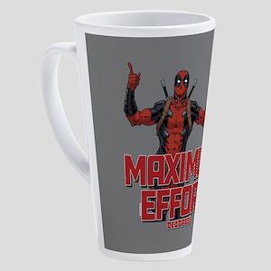 Deadpool Maximum Effort 17 oz Latte Mug