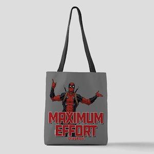 Deadpool Maximum Effort Polyester Tote Bag