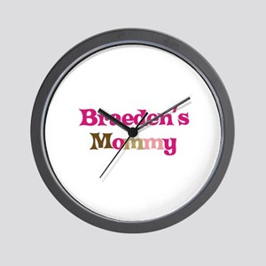 Braeden's Mommy Wall Clock
