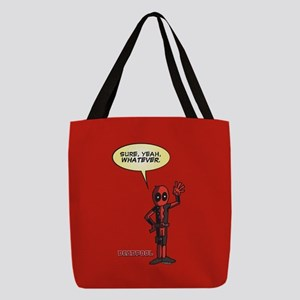 Deadpool Whatever Polyester Tote Bag