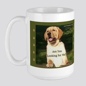 Looking for Me Lab Large Mug