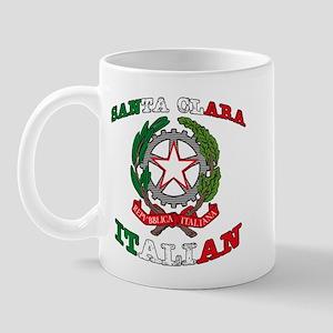 Santa Clara Italian Mug