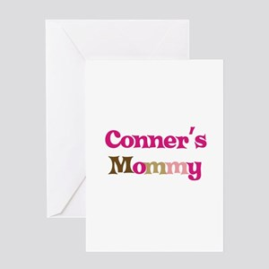 Conner's Mommy Greeting Card