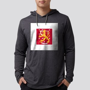 Naval Jack of Finland Long Sleeve T-Shirt