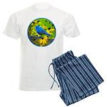 Indigo Bunting Men's Light Pajamas