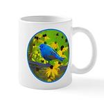 Indigo Bunting 11 oz Ceramic Mug