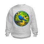 Indigo Bunting Kids Sweatshirt