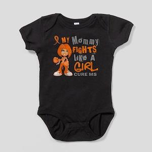 Fights Like a Girl 42.9 MS Infant Bodysuit Body Su
