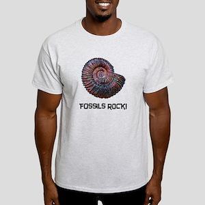 Fossils Rock! Light T-Shirt