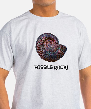 Fossils Rock! T-Shirt