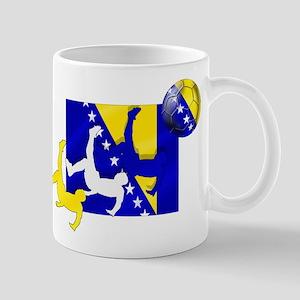 Bosnia Soccer Mug