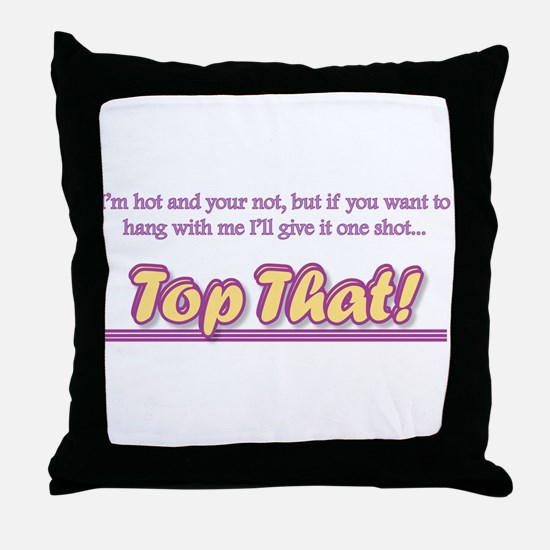 Unique Brad Throw Pillow