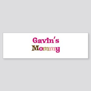 Gavin's Mommy Bumper Sticker