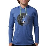 White-Breasted Nuthatch Mens Hooded Shirt