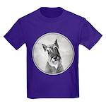 Schnauzer Kids Dark T-Shirt