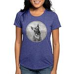 Schnauzer Womens Tri-blend T-Shirt