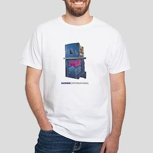 White T-Shirt-GOSS C450 UNIT