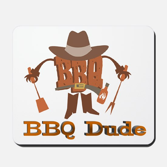 BBQ Dude Dad Mousepad