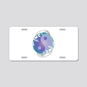 Mother Earth Balance Aluminum License Plate
