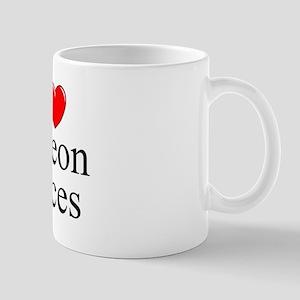 """I Love (Heart) Pigeon Races"" Mug"