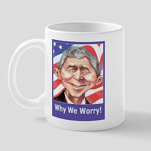 Why We Worry  Mug