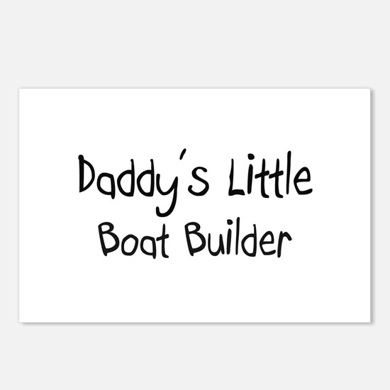 Daddy's Little Boat Builder Postcards (Package of