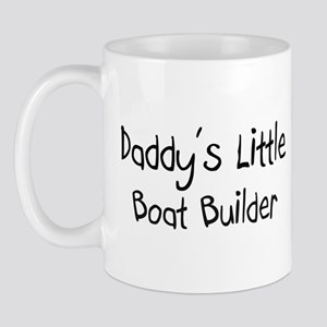 Daddy's Little Boat Builder Mug