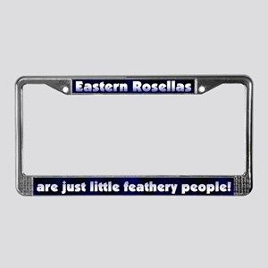 Feather People Eastern Rosella License Plate Frame