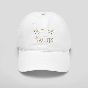 Mom of Twins Boy Girl Cap