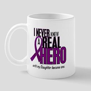 Never Knew A Hero 2 Purple (Daughter) Mug