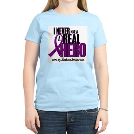 Never Knew A Hero 2 Purple (Husband) Women's Light