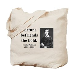 Emily Dickinson 6 Tote Bag