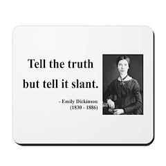 Emily Dickinson 5 Mousepad