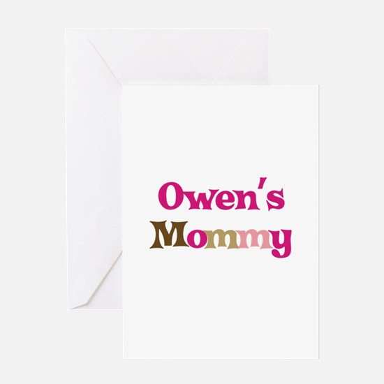 Owen's Mommy Greeting Card