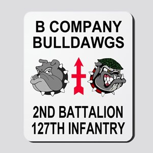 2-127th Infantry <BR>B Company Mousepad 1